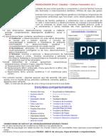 Resumo de Pediatria (Cleiton) - Prova i