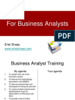 Business Analyst Training PPT