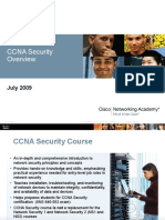 CCNA Security Overview