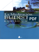 La Meditacion Budista - Ramiro Calle