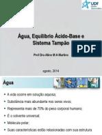 Aula 02 - Água, equilíbrio ac-base e sistema tampao (1)