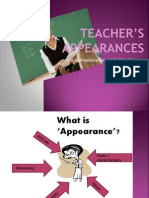 Teacher's Appearance ( penampilan guru)