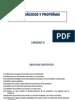 Unidda II Aminoacidos y Proteinas