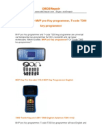 Which is Better MVP Pro Key Programmer, T-code T300 Key Programmer