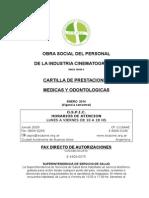 CARTILLA OSPIC BENEFICIARIOS