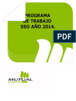 Programa de Trabajo Icil Icafal División El Teniente Año 2014 (1)