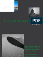 Green Living With Natural Resources