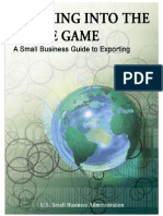 Export Guide English