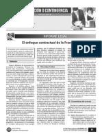 El Enfoque Contractual de La Franquicia