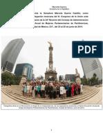 27-09-14 Informe Senadora Marcela Guerra Castillo - ParlAméricas