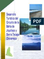 Plan de Desarrollo Turistico Del Circuito de La Bahia de Jiquilisco y Sierra Tecapa Chinameca