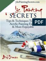 Acyrlic Painting Secrets