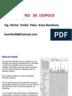 2.- Met. Matriz de Leopol