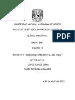 Reporte 5 Medicion Experimental Del 10dq