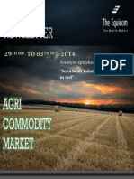 Weekly Agri News Letter 29 Sep to 03 Oct 2014