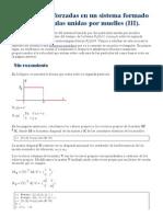 Oscilaciones Forzadas en Un Sistema Formado Por Particulas III