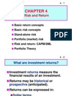 Risk and Return Stock