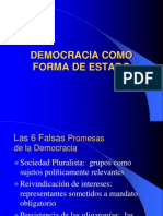Clase 2-09-14 Democracia Concepto Caracteristicas