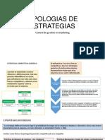 Tipologias de Estrategias