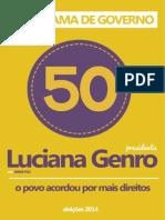 Programa Luciana Genro