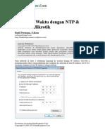 Budi Mengatur Waktu Dengan NTP Clock Di Mikrotik