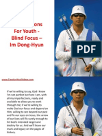 Bible Lessons for Youth - Blind Focus – Im Dong-Hyun