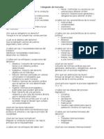 Examen Semestral de Derecho Positivo Mexicano
