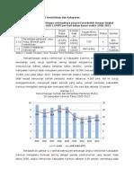Pencapaian MDGs Kab. Karimun 2013