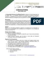 CONVOCATORIA EXPOCCBOL2014