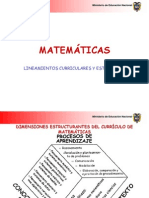 Lineamientos Curriculares y Estandares