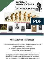 1. Antecedentes Historicos de La Administracion