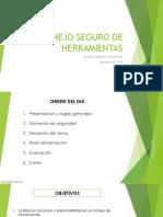 MANEJO SEGURO DE HERRAMIENTAS Sept 2014.pptx