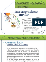 Plan de Marketing Para Un Pyme