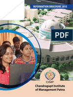 CIMP Admission Brochure 2015