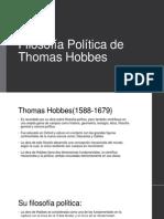 Filosofía Política de Thomas Hobbes