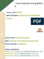 Eput,Faraday Law & Electrolysis 5(a)Rollno(57,58,59)