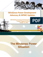 Mindanao Power Development Advocacy-Sep2013