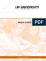 Media Ethics Laws Iimc