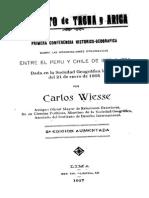 1 Conferencia Sobre Las Negociaciones Diplomáticas - Carlos Wiesse
