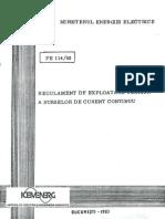 Prescriptie Energetica PE 114-83-3