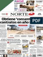 Periódico Norte edición del día 29 de septiembre de 2014
