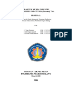 Proposal Pkl Pt Semen Indonesia