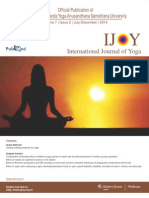 Effect of Bhramari Pranayama on Response Inhibition