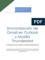 Sincronización de Gmail en Outlook