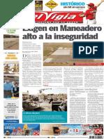 Periódico El Vigía; 28 de Septiembre de 2014