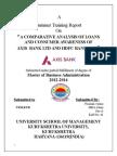 Post Gradation Report
