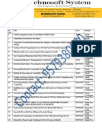 Project IEEE Project List - Technosoft Systems List 2