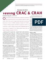 Testing CRAC and CAHU