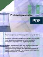 Curs 4 Proteinele Plasmatice