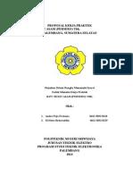 Proposal Magang Pt.bukit Asam (Persero) Tbk.